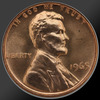 1965 Lincoln Cent Penny Gem SMS Coin!