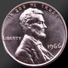 1966 Lincoln Cent Penny Gem SMS Coin!