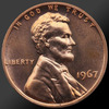1967 Lincoln Cent Penny Gem SMS Coin!