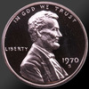 1970 Lincoln Cent Penny Gem Proof Coin!
