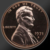 1971 Lincoln Cent Penny Gem Proof Coin!