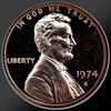 1974 Lincoln Cent Penny Gem Proof Coin!