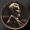 1956 Lincoln Cent Penny Gem Proof Coin!