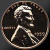 1959 Lincoln Cent Penny Gem Proof Coin!