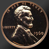 1960 SMALL DATE Lincoln Cent Penny Gem Proof Coin!