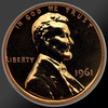 1961 Lincoln Cent Penny Gem Proof Coin!