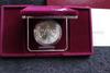 1988 US Olympics Commemorative Silver Dollar UNC Box & COA