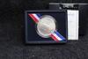 1991 United Service Organizations UNC Silver Dollar BOX & COA