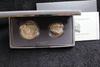 1991-S 2 pc. Mt. Rushmore Commemorative Proof Silver Dollar & Half   BOX & COA
