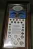 United States Coins of the 20th Century 1900-1971 Framed