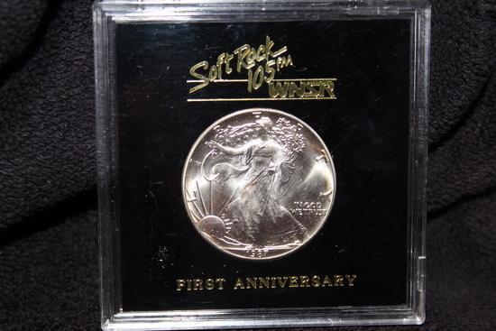 1987 1 oz. American Silver Eagle BU
