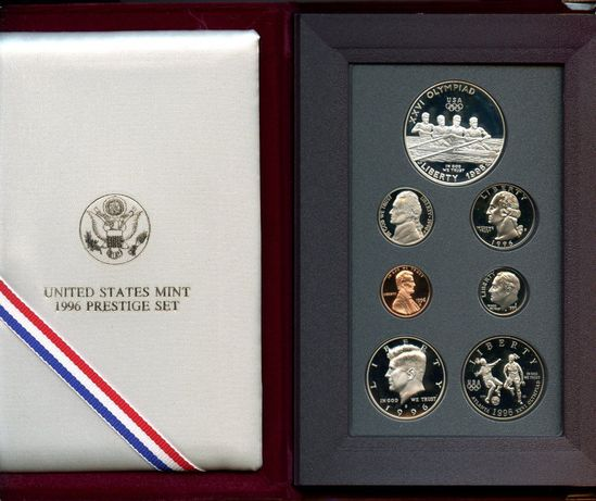 ***KEY*** 1996 United States Mint Prestige Proof Set