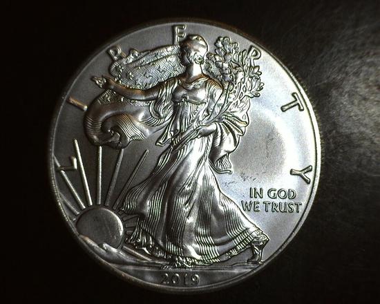 2019 1 oz. American Silver Eagle BU