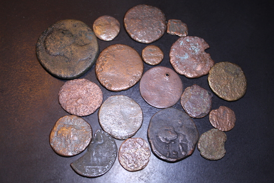Lot of Mixed Early Ancient Coins