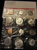 1962 Mint Set includes 10 coins original packaging