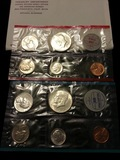 1964 Mint Set includes 10 coins original packaging