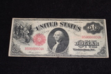 1917 $1 Red Seal Legal Tender Large Note