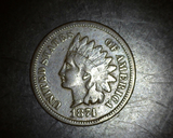 1874 Indian Head Cent F