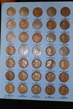 3 Whitman Books of 208 Lincoln Cents Circ-BU 1909-1975 All properly slotted