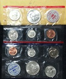 1961 Mint Set includes 10 coins original packaging