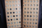 2 Raymond Wyatt Albums Liberty V & Buffalo & Jefferson Nickels 1903-1921/1939-1952  (Total 64 coins)