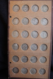 Raymond Wyatt Album Walking Liberty Halves 1939-1947  (Total 24 coins)