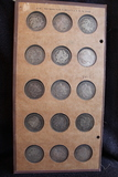Raymond Wyatt Album Morgan Dollars 1878-1890 (Total 15 coins)