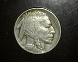 1916 Buffalo Nickel EF