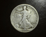 1917-D REV Walking Liberty Half