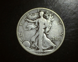 1920 D Walking Liberty Half VG