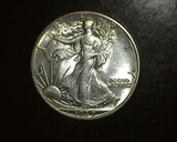 1939 Walking Liberty Half  BU