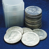 Roll 40% Silver Kennedy Halves Circulated-BU