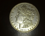 1880  Morgan Dollar