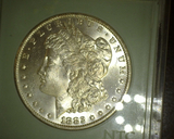1882 O Morgan Dollar MS 65 NTC