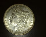 1882 S  Morgan Dollar BU