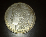 1884  Morgan Dollar