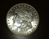 1886 Morgan Dollar High MS