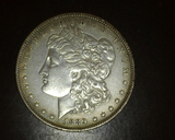 1889 O Morgan Dollar