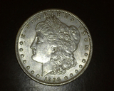 1896 Morgan Dollar AU