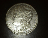 1896 O Morgan Dollar EF