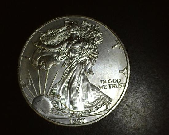 1997 1 oz. American Silver Eagle BU