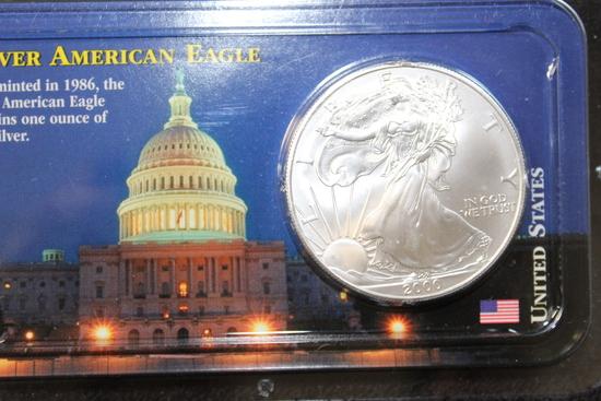 2000 1 oz. American Silver Eagle BU