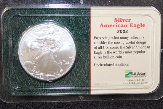 2003 1 oz. American Silver Eagle BU