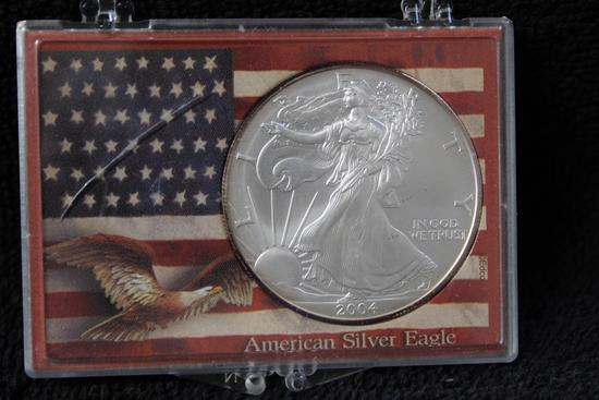 2004 1 oz. American Silver Eagle BU