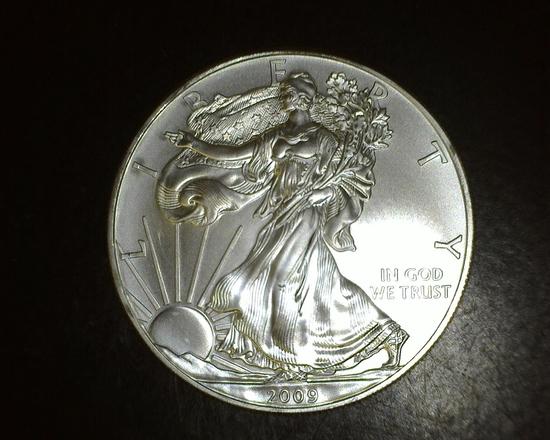 2009 1 oz. American Silver Eagle BU