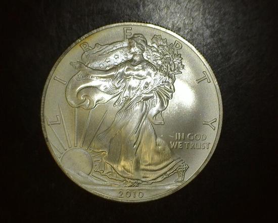 2010 1 oz. American Silver Eagle BU