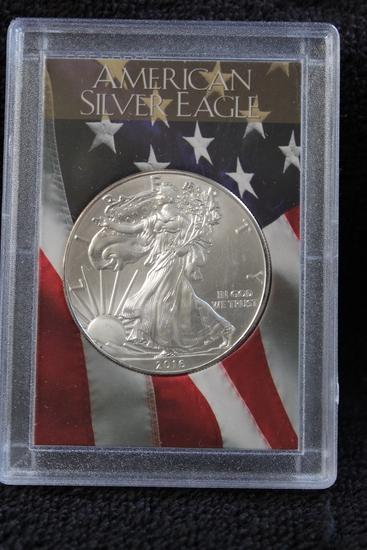 2016 1 oz. American Silver Eagle BU