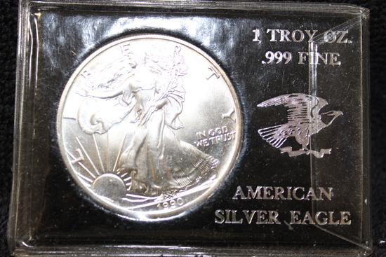 1990 1 oz. American Silver Eagle BU