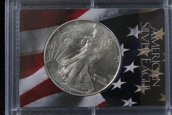 1993 1 oz. American Silver Eagle BU