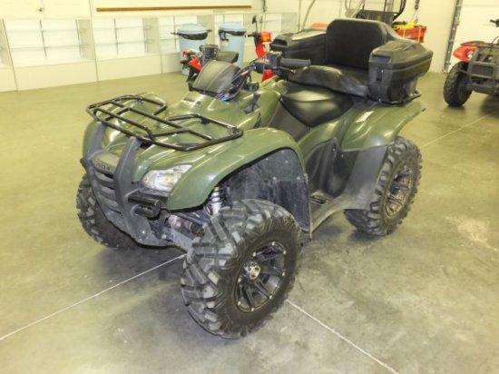 2012 HONDA TRX420FPE RANCHER 4X4 ATV